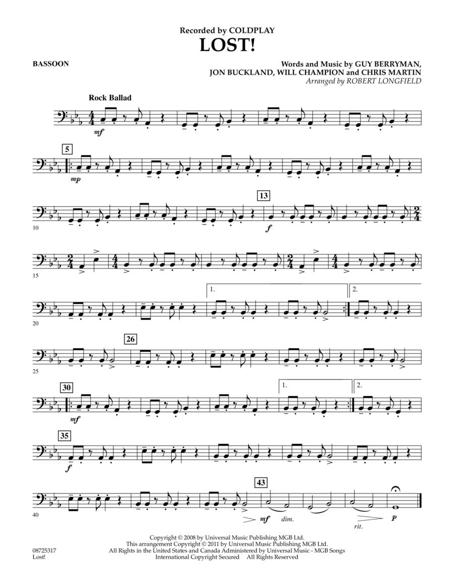 Lost! - Bassoon