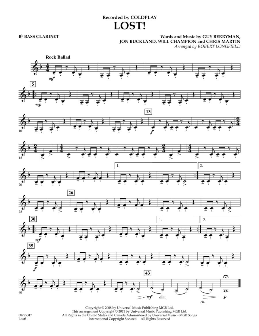 Lost! - Bb Bass Clarinet