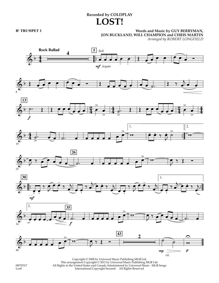 Lost! - Bb Trumpet 1