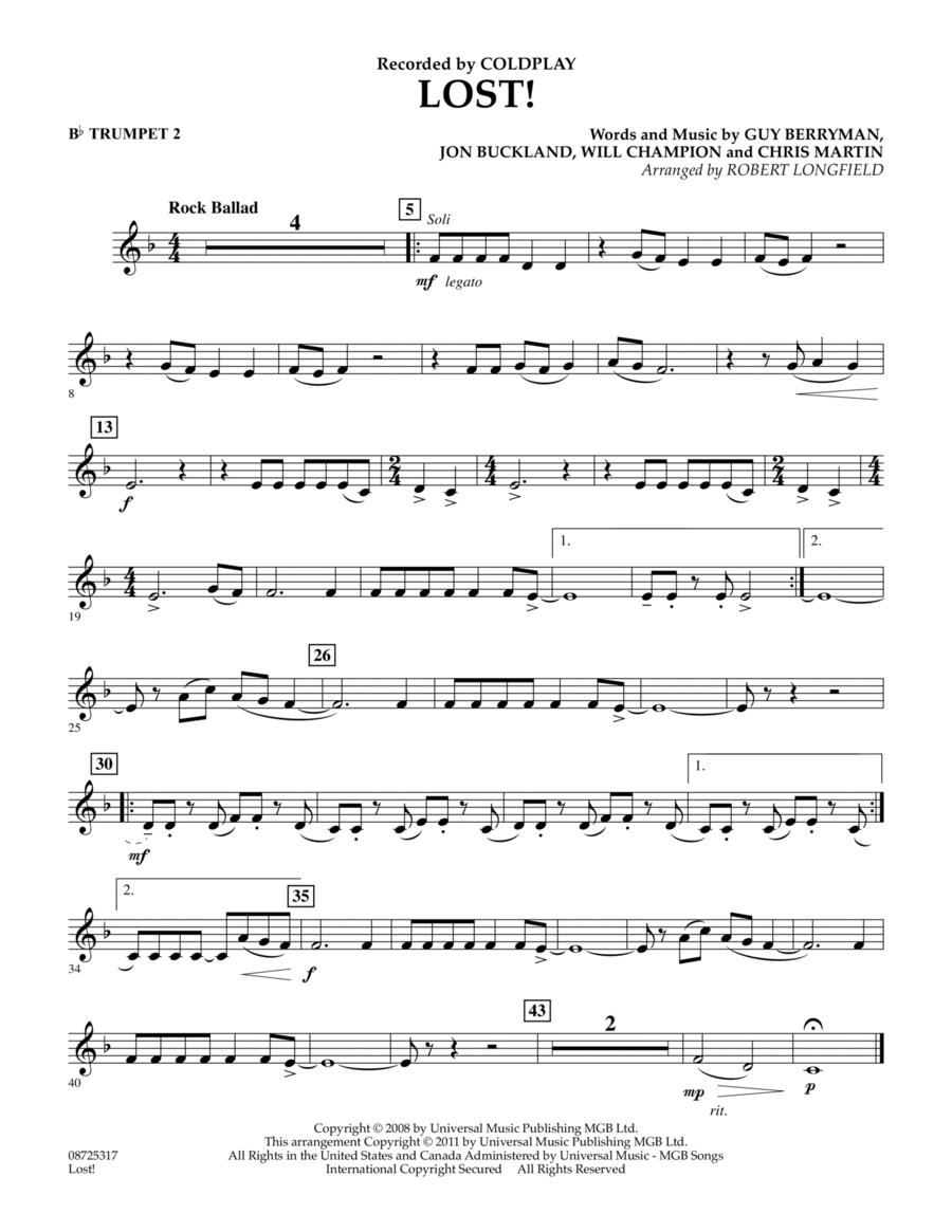 Lost! - Bb Trumpet 2