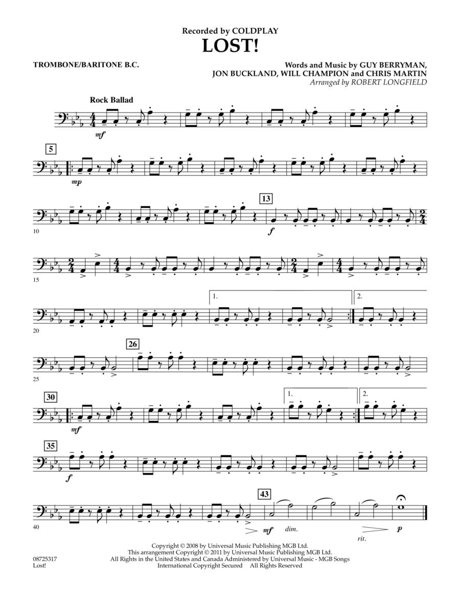 Lost! - Trombone/Baritone B.C.