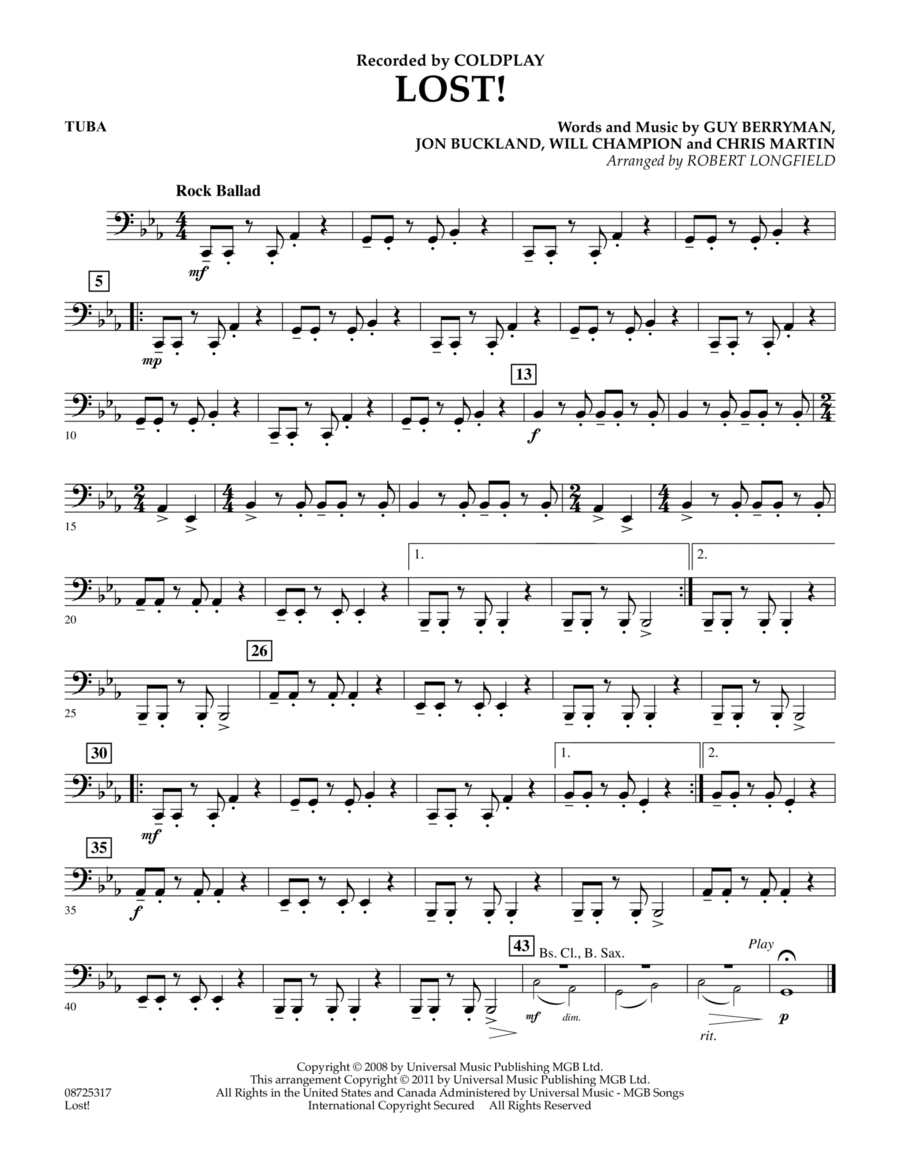 Lost! - Tuba