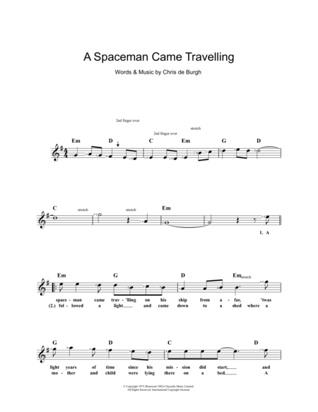 A Spaceman Came Travelling