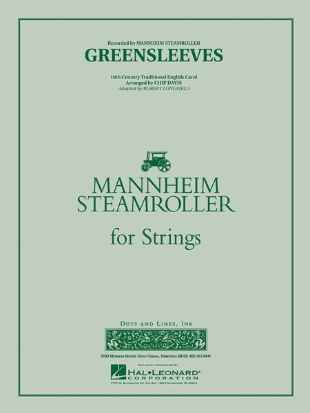 Greensleeves (Mannheim Steamroller)