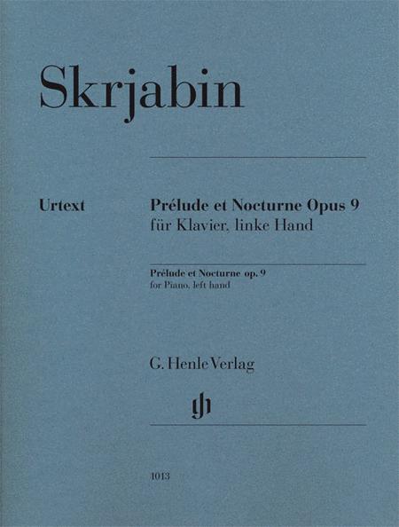 Prelude et Nocturne, Op. 9