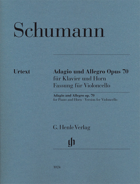 Adagio and Allegro, Op. 70