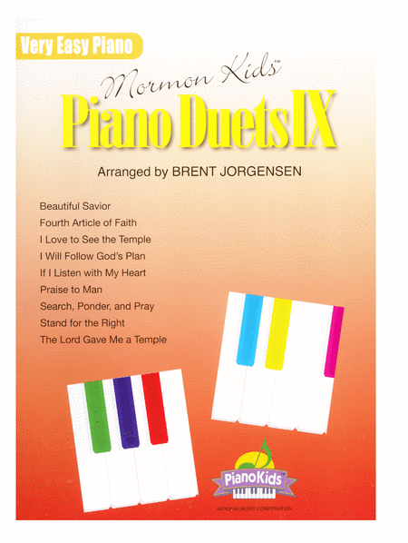 Mormon Kids Piano Duets IX