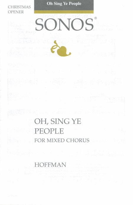 Oh, Sing Ye People - SATB