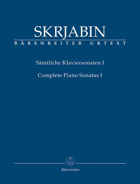 Samtliche Klaviersonaten, Band I