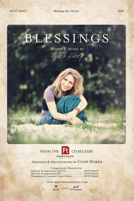Blessings (Split Track Accompaniment CD)