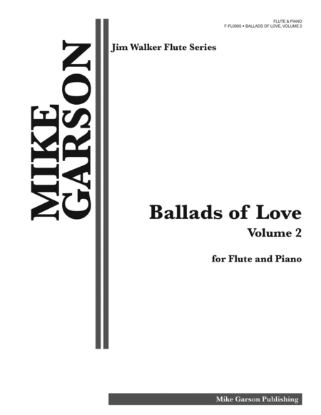Ballads of Love, Book 2