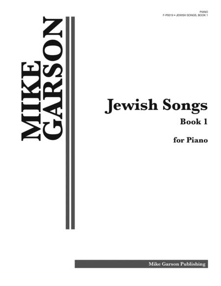 Jewish Songs, Volume 1