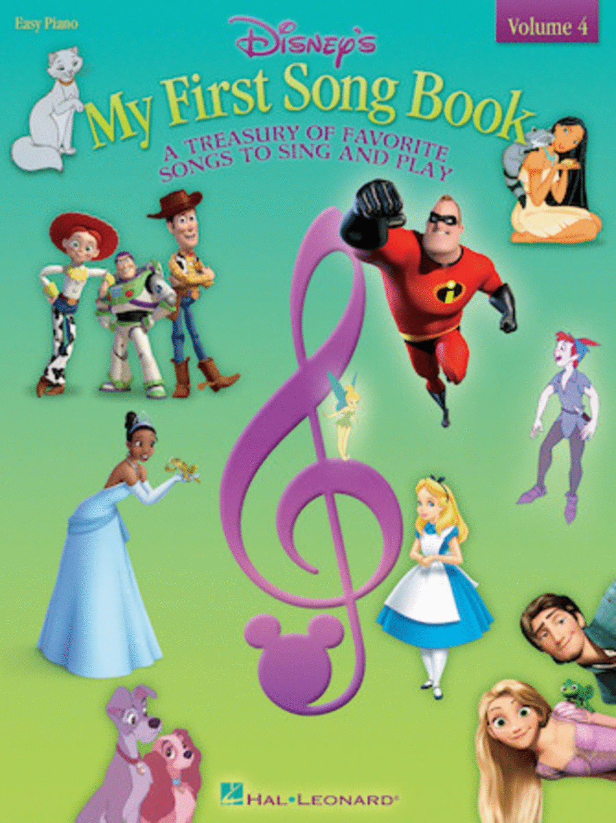 Disney's My First Songbook - Volume 4