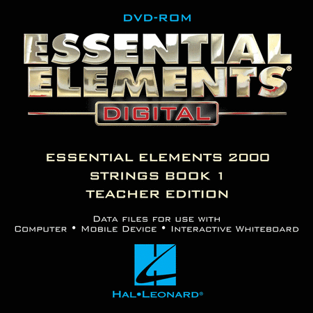 Essential Elements Digital - Strings Book 1 (Teacher Edition on DVD-ROM)