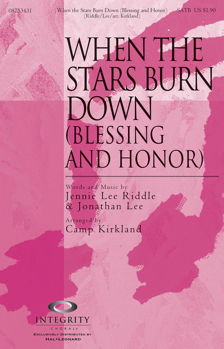 When the Stars Burn Down (Blessing and Honor) - Accompaniment CD