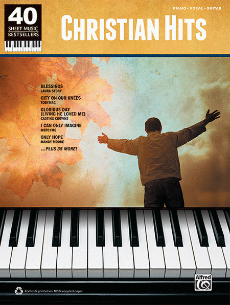 40 Sheet Music Bestsellers -- Christian Hits