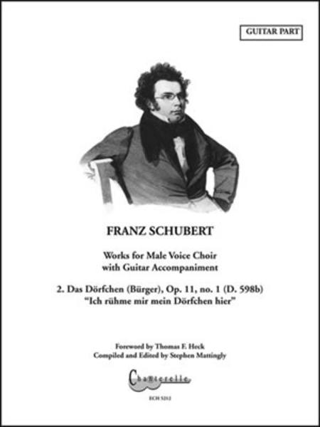 Franz Schubert - Das Dorfchen (Burger) Op. 11/1 D.598b Guitar Part
