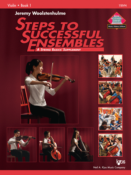 Steps to Successful Ensembles - Book 1 - Violin