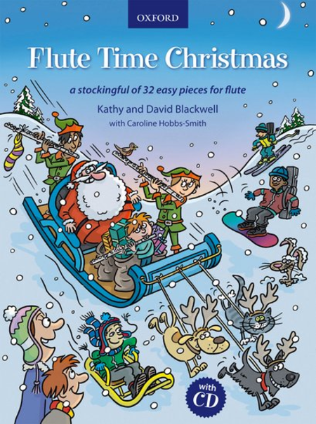 Flute Time Christmas (book and CD)