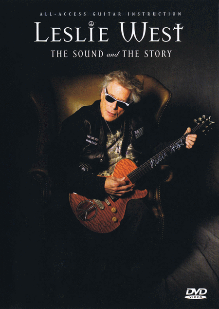 Leslie West: The Sound And The Story - Guitar Instruction / Documentary Dvd (pal Ed.)