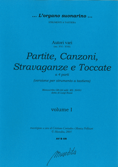 Partite, canzoni, stravaganze e toccate (version for keyboard)