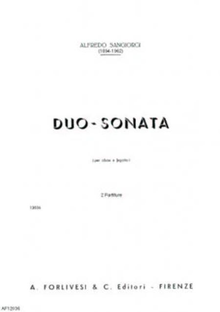 Duo-sonata : per oboe e fagotto, 1934