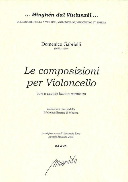 Complete works for Cello (Manuscript, I-MOe)
