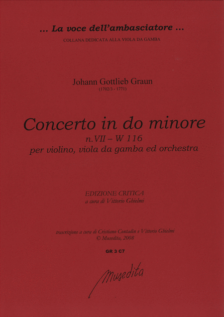 Concerto in c minor [W deest]