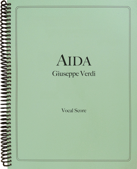Aida (Vocal Score)