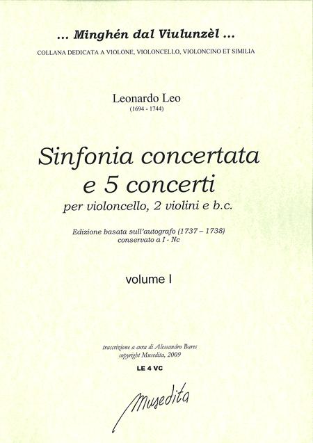 Sinfonia concertata e 5 Cello Concertos (Manuscript I-Nc, 1737/8)