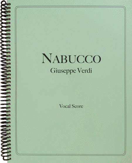 Nabucco (Vocal Score)