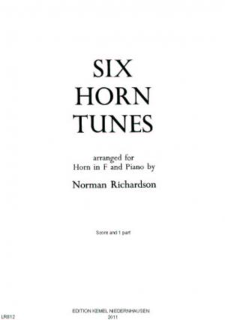 Six horn tunes : for horn in F and piano
