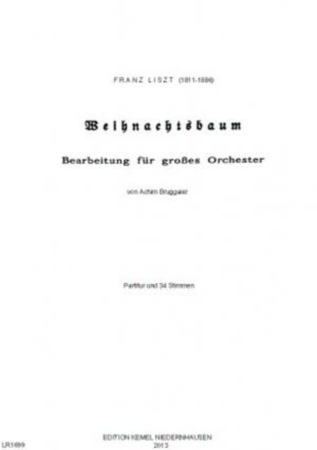 Weihnachtsbaum : fur grosses Orchester