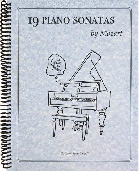 19 Mozart Piano Sonatas