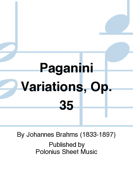 Paganini Variations, Op. 35