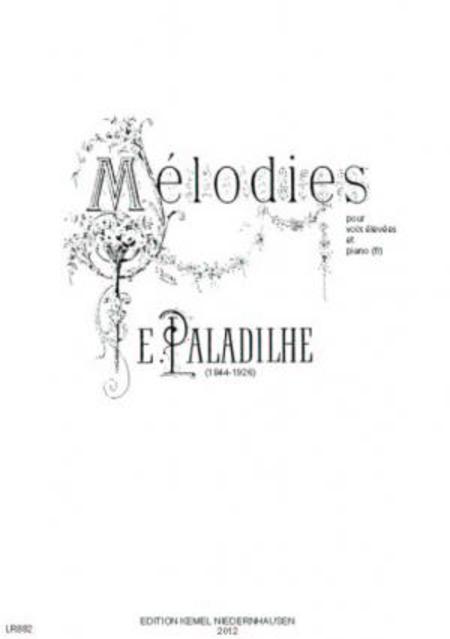 Melodies : pour voix elevees et piano