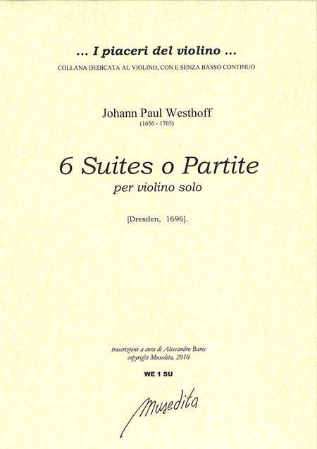 6 Suites (Dresdem, 1696)