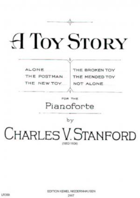 A toy story : for the pianoforte, 1920