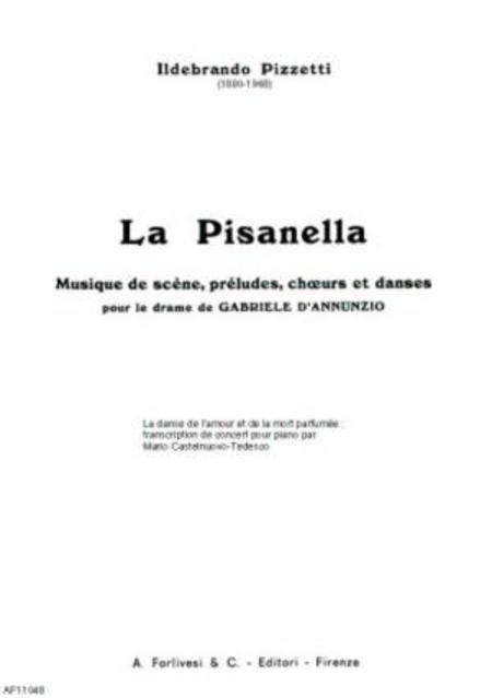 La Pisanella : La danse de l'amour et de la mort parfumee : transcription de concert pour piano seul