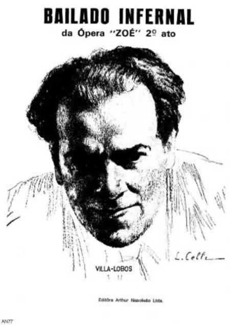 Bailado infernal : da opera Zoe : 2o ato : para piano, 1920