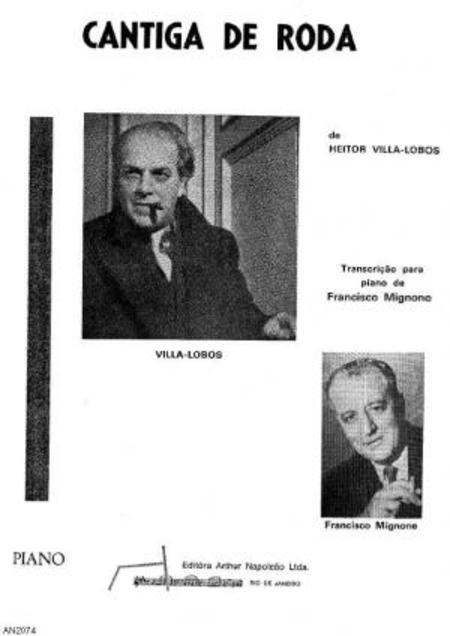 Cantiga de roda : para piano, 1917