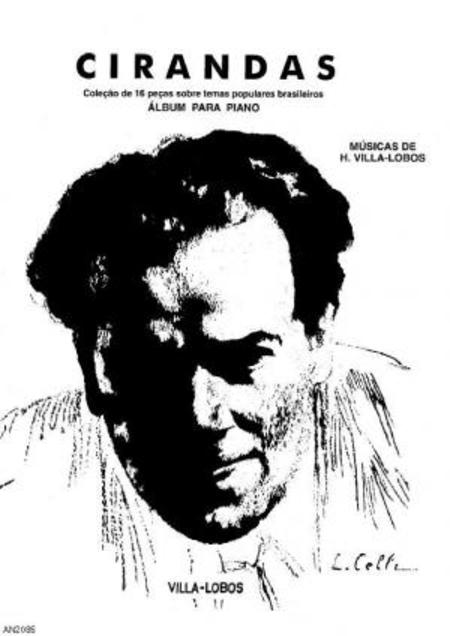 Album das cirandas : colecao de 16 pecas sobre temas populares brasileiros : album para piano, 1926