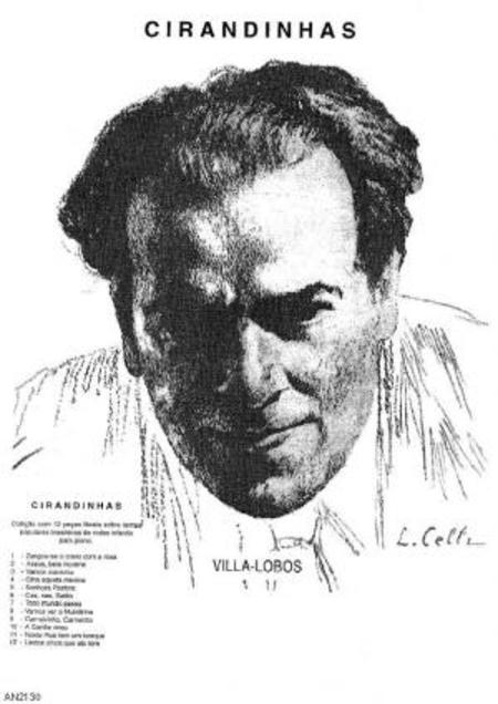 Cirandinhas : colecao com 12 pecas faceis sobre temas populares brasileiros de rondas infantis para piano, 1926