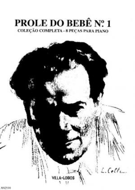 A prole do bebe no. 1 : 8 pecas para piano : colecao completa, 1918
