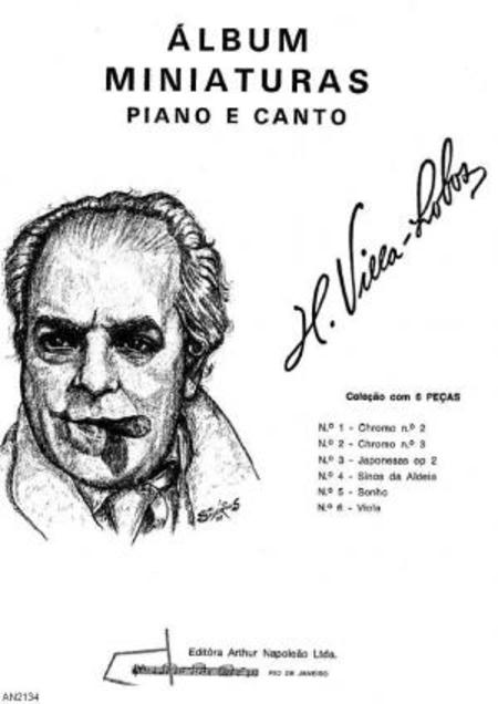 Album miniaturas : colecao com 6 pecas para canto e piano