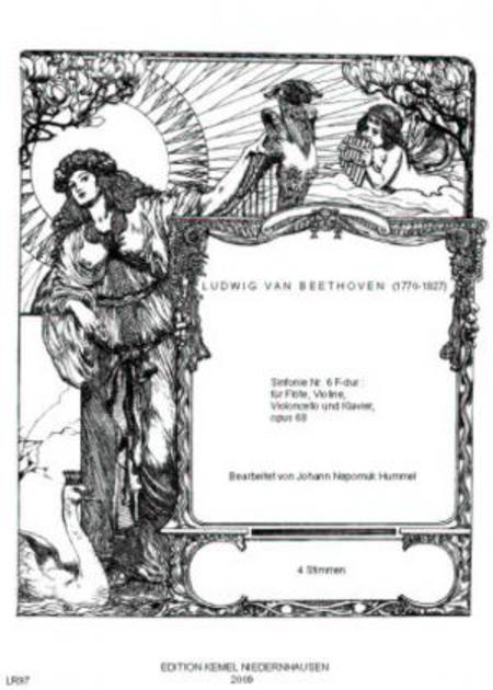 Sinfonie Nr. 6 F-dur : fur Flote, Violine, Violoncello und Klavier, opus 68