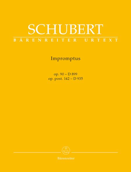 Impromptus op. 90 D 899, op. post. 142 D 935