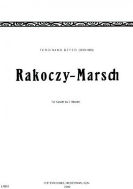 Rakoczy-Marsch : fur Klavier zu 2 Handen