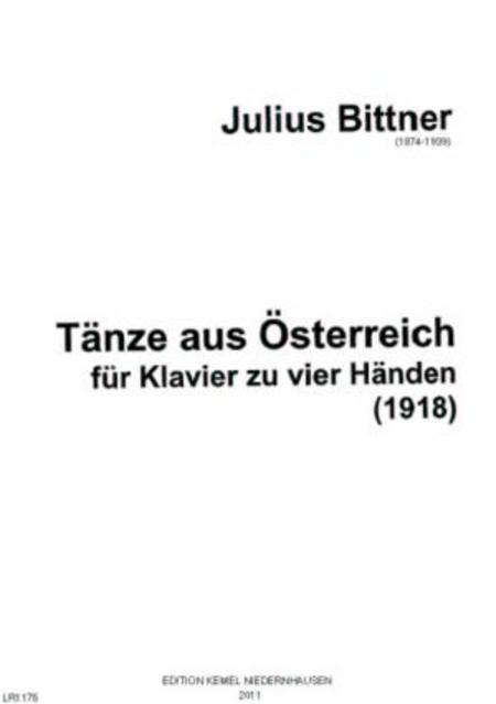 Tanze aus Osterreich : fur Klavier zu vier Handen, 1918