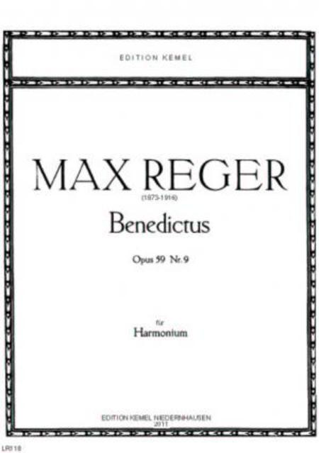 Benedictus : fur Harmonium, opus 59 Nr. 9